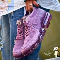Nike Air VaporMax Fashion Casual Women Sport Casual Sneakers Running Shoes Purple G-XYXY-FTQ