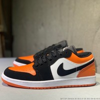 """""""Nike Air Jordan 1"""" Unisex Casual Fashion Multicolor Low Help Plate Shoes Couple Sneakers"""