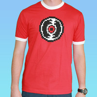 Dave's Record - Red Ringer Tee