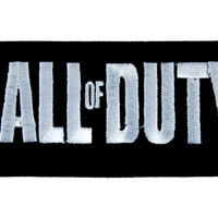 Call of Duty Patch Iron On Applique Alternative Clothing Black Ops