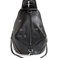 Rebecca Minkoff Julian Embellished Leather Backpack | Nordstrom