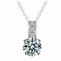 A new type of pendant necklace with a necklace of zircon necklace hot style necklace