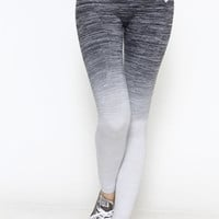 Ombre Active Leggings - Charcoal