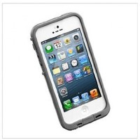 Waterproof Shockproof Pc Case Life Dirt Proof Cover for Iphone 5 -White