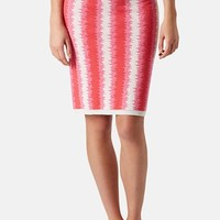 Topshop 'Felt Tip' Knit Tube Skirt