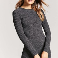 Ribbed Knit Sweater Dress