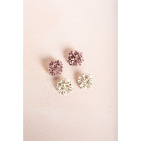 Janelle Flower Earrings