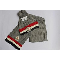 Moncler Knitted Hat & Scarf 1009# 6 Colors