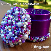 GRINDER -- MINIS Collection --  Pink + Purple GlamourBomb