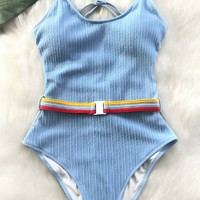 Make Me Proud One-piece Swimsuit
