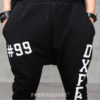 DC Drop Crotch Baggy Jersey Pants