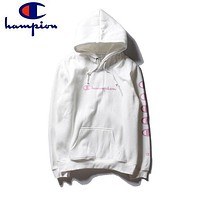 Champion Long Sleeve Top Pullover Sweater Hoodies