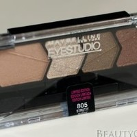 Maybelline Eye Studio Eyeshadow, Strut It Suede #805.
