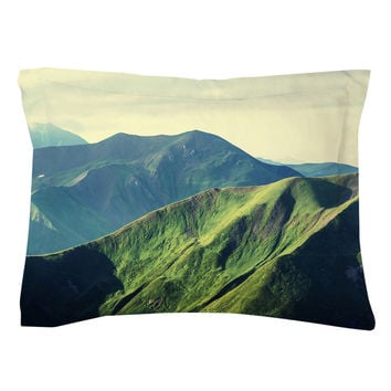 Emerald Hills Pillow Shams