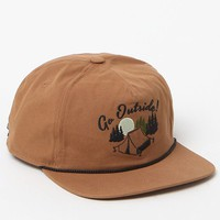 Coal The Great Outdoors Snapback Hat - Mens Backpack - Brown - One