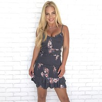 Baby Be Mine Floral Bodycon Dress
