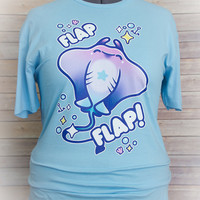 Flap Flap Pastel Stingray Tee