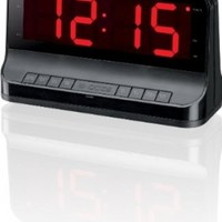 GPX C502B AM/FM Clock Radio with Dual Alarms - Black (Discontinued by Manufacturer)