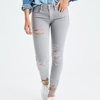 AEO Denim X Jegging, Light Gray