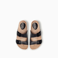 LEATHER BIO SANDAL