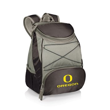 Oregon Ducks - PTX Backpack Cooler, (Black with Gray Accents)