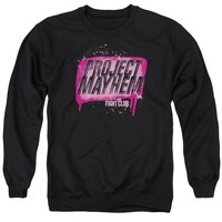 Fight Club - Project Mayhem Adult Crewneck Sweatshirt