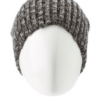 Combo Marled Knit Beanie by Charlotte Russe