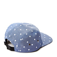 Men Polka Dot Five-Panel Hat | 21 MEN - 2000130276