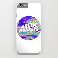 Arctic Monkeys Logo iPhone & iPod Case by Julia