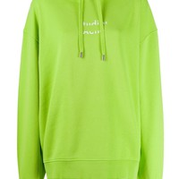 Green Drawstring Hoodie by Acne Studios
