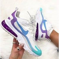 Nike React Air Max 270 New fashion hook print sports leisure running shoes