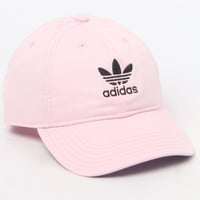 adidas Original Pink and White Strapback Dad Hat at PacSun.com