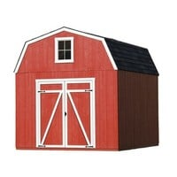Shop Heartland Estate Gambrel Engineered Wood Storage Shed (Common: 10-ft x 10-ft; Interior Dimensions: 10-ft x 10-ft) at Lowes.com