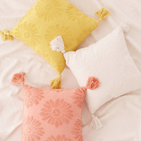 Dotty Daisy Throw Pillow | Urban Outfitters
