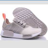 Tagre™ Women Adidas NMD Boost Casual Sports Shoes Beige