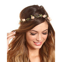 Rosebuds & Chains Headwrap: Charlotte Russe