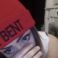 GET BENT embroidered Beanie