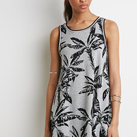 Palm Tree Graphic Dress