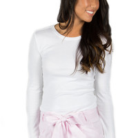 Lauren James Seersucker Bow Shorts- Pink