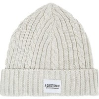A QUESTION OF Organic knitted beanie