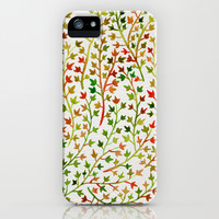 Autumn Ivy iPhone & iPod Case by Cat Coquillette