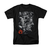 SONS OF ANARCHY GROUP FIGHT Short Sleeve T-Shirt