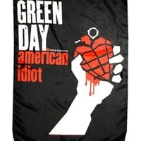 GREEN DAY AMERICAN IDIOT FABRIC POSTER: Gypsy Rose