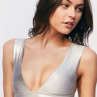 Billabong Island Time Plunging Bikini Top - Urban Outfitters