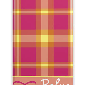 PLAID - CUTE GIRLY PHONE CASE