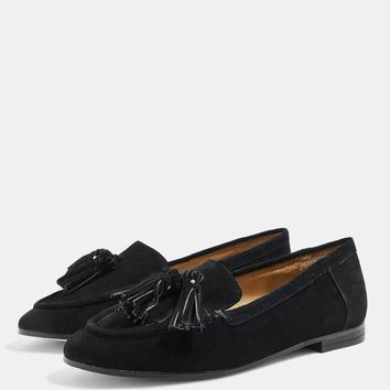 **WIDE FIT LEXI Loafers   Topshop