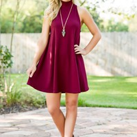 The Only One Dress-Maroon - NEW ARRIVALS