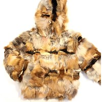 Winter Fur Red Fox Fur Coat