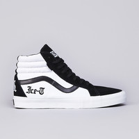Flatspot - Vans Syndicate Ice T Sk8-Hi OG 'S' Black / White