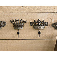 Hooks, Crown Set of 4